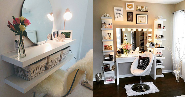 Make Up Tafel : Make up tafel met spiegel toilettafel met spiegel ikea ideeen