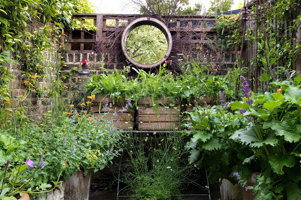 Vegetable Garden Ideas Layout Backyards Small Spaces